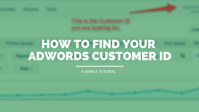 Adwords Customer ID